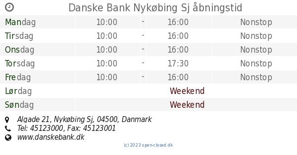danske bank nykøbing sjælland