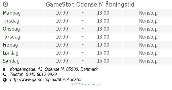 gamestop kongensgade odense