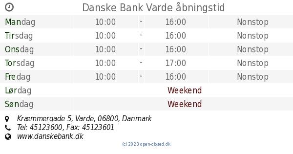 danske bank varde