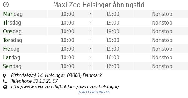 maxi zoo helsingør
