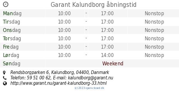 garant kalundborg