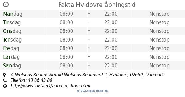hvidovre kommune åbningstider