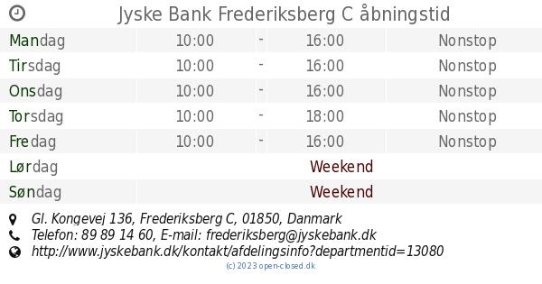 jyske bank gammel kongevej